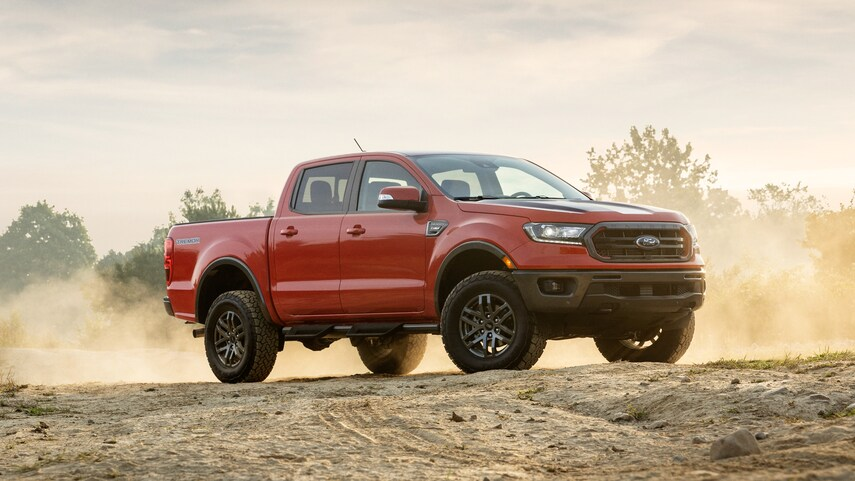 Ford Ranger 2021 lắp ráp trong nước 2021 có gì mới?