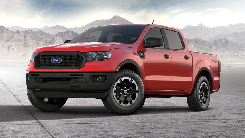 Ford Ranger 2021 lắp ráp trong nước