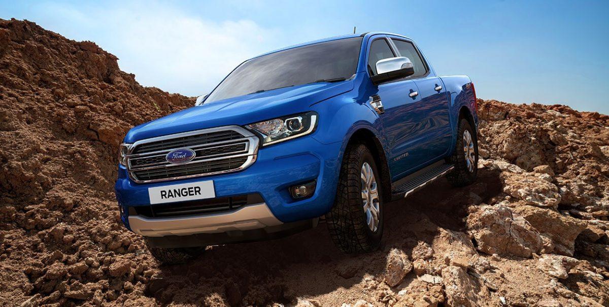 Xe bán tải hai cầu số tự động Ford Ranger XLT Limited giá 799 triệu